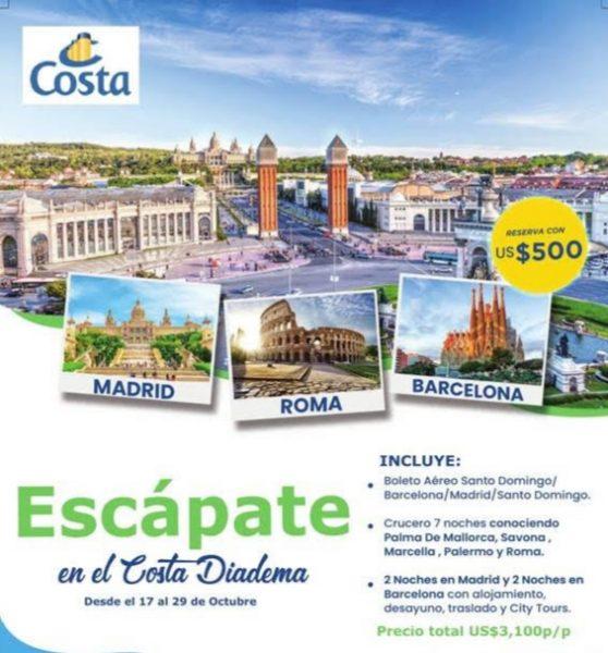 Costa Favolosa 2019