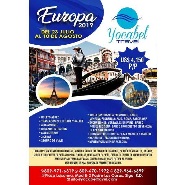 Flyer Europa