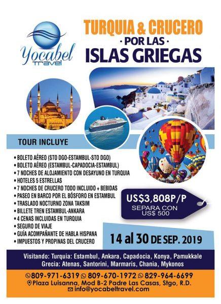 Promo Turquia e Islas Griegas